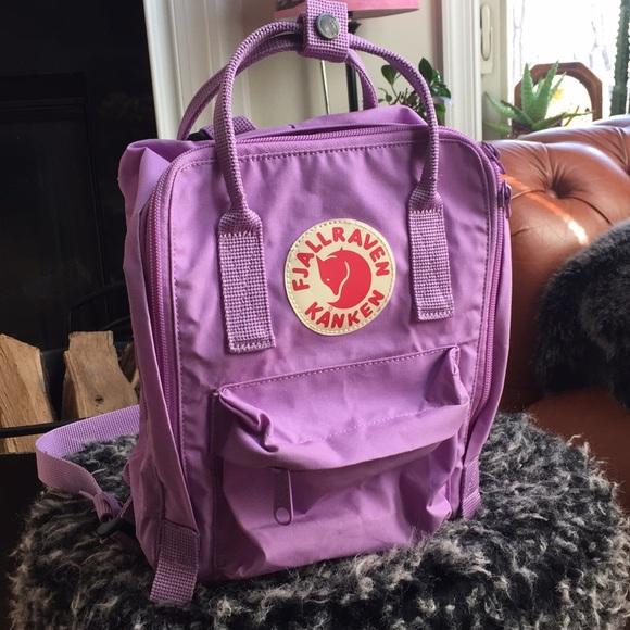 a53856447 Fjallraven Handbags - Fjallraven kanken mini backpack orchid purple
